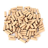 Genenic 120Pcs/bag Pre Rolled Natural Unrefined Cigarette Filter Smoking Rolling Paper Tips Tobacco Paper 6MM