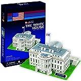 """CubicFun 3D Puzzle C-Serie """"Casa Blanca - Washington D.C."""""""