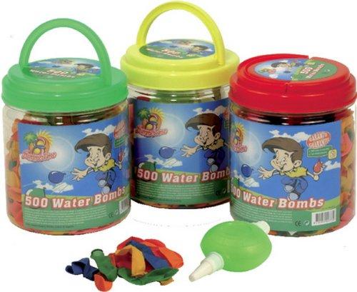 Wasserbomben+Pumpe 500ST.Eimer