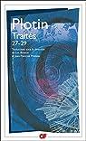 Traités 27-29 par Plotin