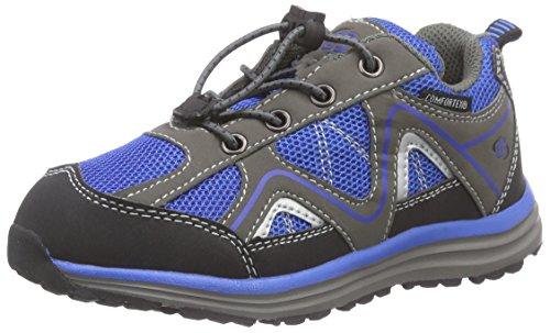Brütting Minnesota, Chaussures de randonnée garçon Bleu - Blau (royalblau/grau)