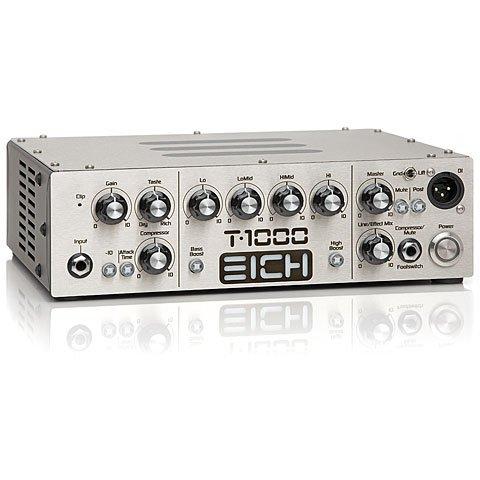 Eich Amps T-1000 · Topteil E-Bass