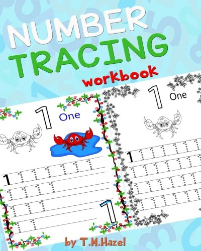 Children's Book: TRACE NUMBERS (Numbers Tracing Workbook for 3-5 year old): TRACE NUMBERS AGES 3-5 PRESCHOOL Handwriting Workbook (Volume 1