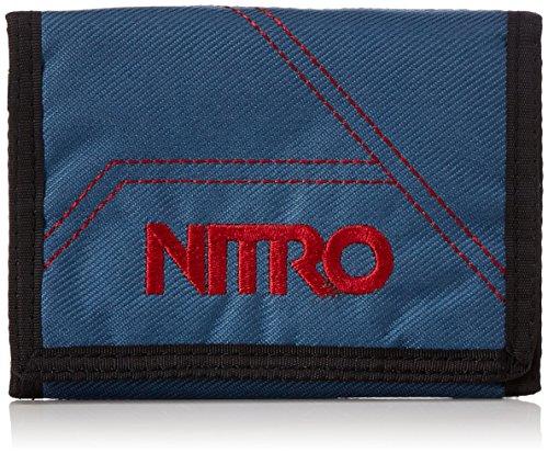 Nitro Wallet, Geldbörse, Geldbeutel, Portemonnaie, Münzbörse, Blue Steel, 10 x 14 x 1 cm, 1131-878000_1959, 60g