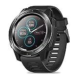 Zeblaze Vibe 5 HR Reloj Inteligente Deportivo, Smartwatch Hombre Impermeable Bluetooth 4.0 Reloj Inteligente con Monitor de Ritmo Cardíaco/Sueño, Podómetro para iOS Android (Negro)