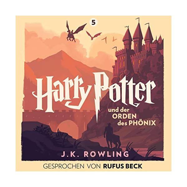Harry Potter und der Orden des Phönix – Gesprochen von Rufus Beck: Harry Potter 5