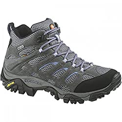 Merrell Women's Moab Mid Gore-tex High Rise Hiking Shoes - 51UesFp0P4L - Merrell Women's Moab Mid Gore-tex High Rise Hiking Shoes