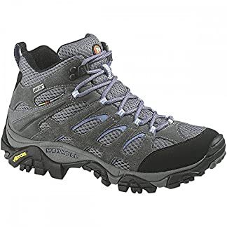 Merrell Women's Moab Mid Gore-tex High Rise Hiking Shoes 12