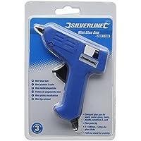 Silverline 100012 Mini Pistola Incollatrice, 230 V, 7-10 W - Fine Fabric Gun Gun