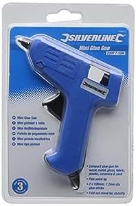 Silverline 100012 Mini pistolet à colle 230 V 7 (10) W