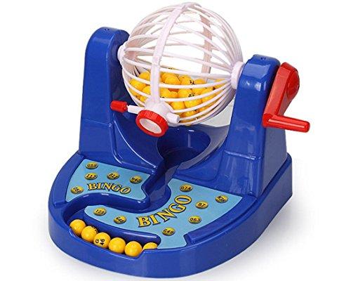 nwyjr Simulation von Lotterie Maschine Lotterie Desktop Toys Kinder Bildungs-Spielzeug Set Kinder Bildungs-Spielzeug Set (Die Maschine Bambus-sticks)