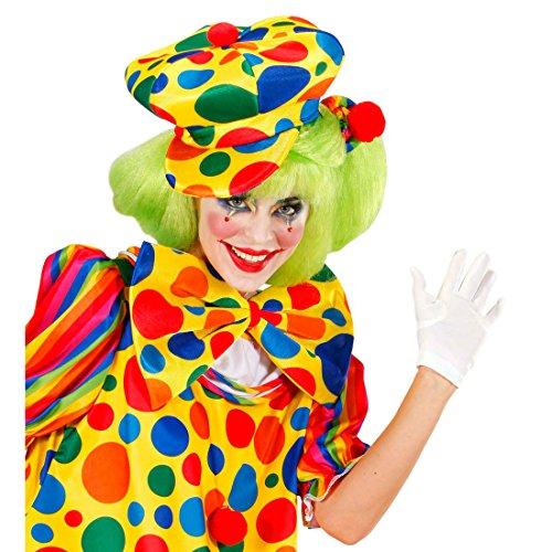 Clown Mütze Bunte Ballonmütze gepunktet Kindergeburtstag Clownmütze Narr...
