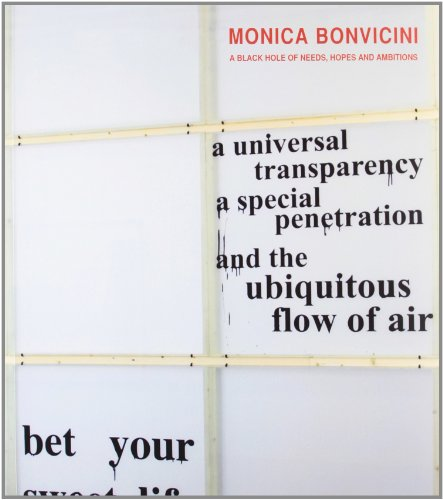 Monica Bonvicini - a Black Hole of Needs, Hopes and Ambitions