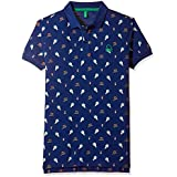United Colors of Benetton Boys' Polo (17A3089CZS17I_Multicoloured_XS)