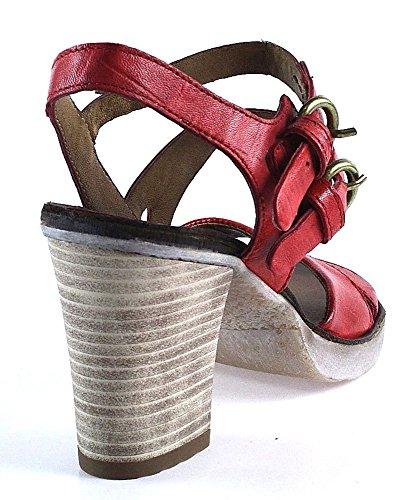 Mjus | Playa | Sandale | rot Rot