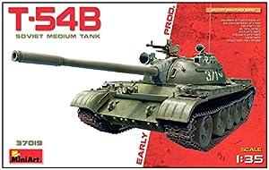 Unbekannt Mini Tipo 37019Maqueta de Soviet Medium Tank T de 54B Early produktio, Juego