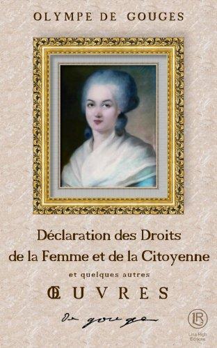 Déclaration des Droits de la Femme et d...