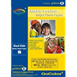 iHave Gocolor Duel Side Matte Coated Inkjet Photo Paper 220 GSM A4 50 Sheet