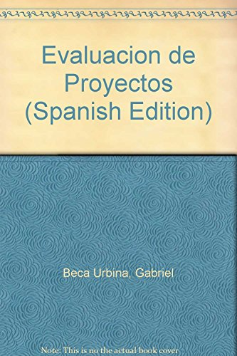 Descargar Libro Evaluacion de Proyectos de Gabriel Beca Urbina