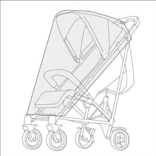 Cybex Rain Cover for Strollers (Transparent)