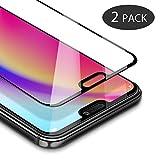 [2 Pack] Protector Pantalla Huawei P20 Lite, GAVAER HD Protector de pantalla de vidrio templado con 9H Dureza, Película protectora para Huawei P20 Lite (0,33 mm)