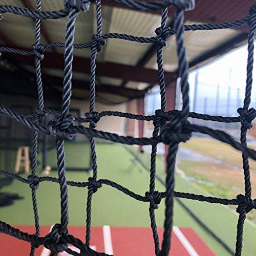 GAMERS SPORTS GROUP Gamer Sport Gruppe Baseball Field Bildschirm 7'X7' Kissenbezüge Ersatz Net 60Gauge HDPE -
