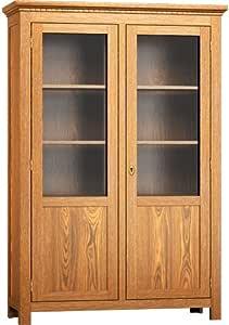 Glasvitrine - massiv Holz Kiefer - Wohnzimmer Vitrine 200