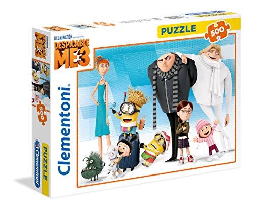 Clementoni 35044-Puzzle Minions