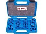 """US Pro 8PC Shark tipo tubo tappi, adatto a tubo 5/40,6cm """", 3/20,3cm, 1/5,1cm US5821"""