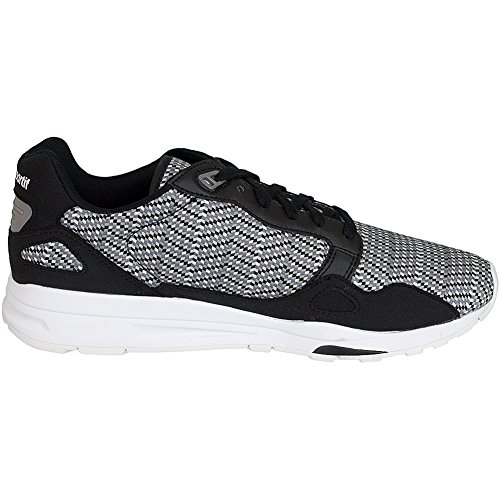 Le Coq Sportif Sneaker R900 schwarz/weiß Schwarz