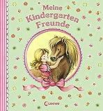 Meine Kindergarten-Freunde (Ponys): Erinnerungsbuch für Mädchen ab 3 Jahre (Eintragbücher)
