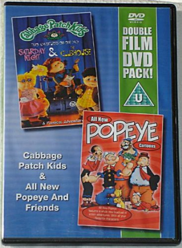 Cabbage Patch Kids / All New Popeye and Friends (Double Film DVD Pack) (Popeyes Dvd)