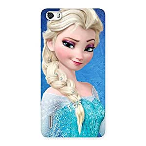 Delighted Winky Angel Back Case Cover for Honor 6
