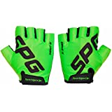 Sportigoo SPG Cycling Gloves - Green/Black