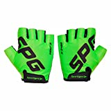 #8: Sportigoo SPG Cycling Gloves - Green/Black