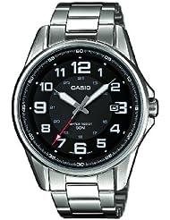 Casio Herren-Armbanduhr XL Casio Collection Analog Quarz Edelstahl MTP-1372D-1BVEF