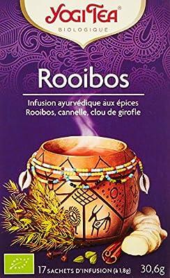 Yogi Tea Thé Rooibos 17 Sachets - Lot de 3