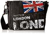 Robin Ruth Tasche, Motiv London / Union Jack, schwarz - schwarz - Größe: M