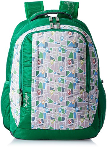 Skybags Helix 29.5 Ltrs Green Casual Backpack (BPHELFS3GRN)