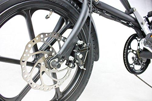 "Kwikfold Xite 16"" Electric Folding Bike (Black)"