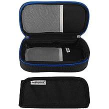 Vococal - Portátil Bolsa Isotérmica de Insulina Diabética / Bolsa de Enfriamiento / Estuche de Viaje para de la Insulina y Otros Medicina (Negro)