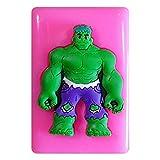 Hulk Silikon Form für Kuchen Dekorieren, Kuchen, kleiner Kuchen Toppers, Zuckerglasur Sugarcraft Werkzeug durch Fairie Blessings