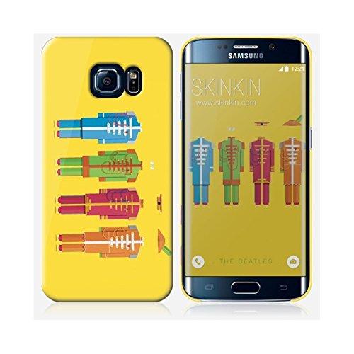 Sticker iPhone 5C de chez Skinkin - Design original : The Beatles par Frederico Birchal Coque Samsung Galaxy S6 Edge