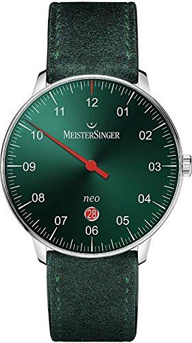 MeisterSinger Neo NE409 Reloj automático con sólo una aguja Clásico & sencillo