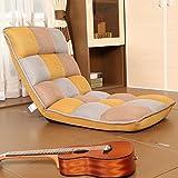 Lazy Sofa Einzelner Kleiner Sofa-Schemel-Balkon-Erker-faltender Auflagen-Sofa-Stuhl (Farbe : Style3)