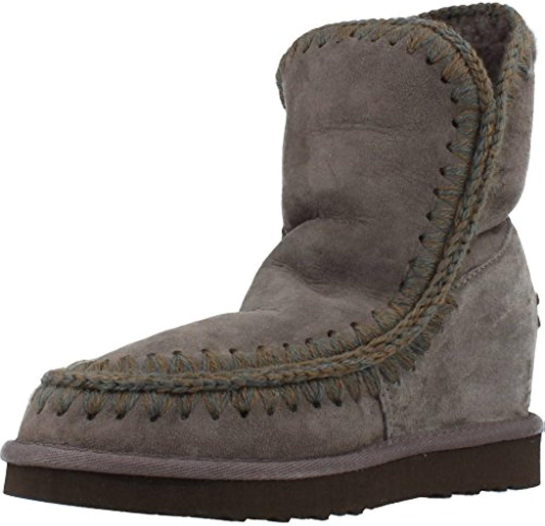 Mou bottes femme femme femme en daim gris a0131e - secretemple.com 57d1abb3f7a9