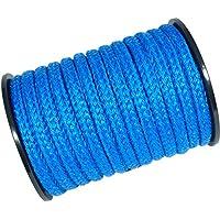 30m Kunststoffseil 16mm 2400kg grün beige blau schwimmfähig Polyprolylen PP-Seil Seil Tau salzwasserbeständig