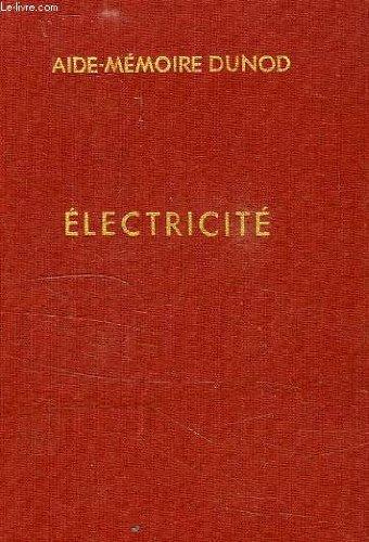ELECTRICITE, APPLICATIONS PRATIQUES