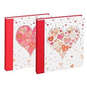 Goldbuch-Hochzeitsalbum-30-x-31-cm-60-Seiten-mit-Pergamin