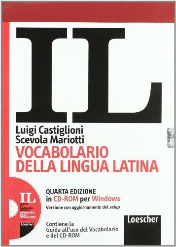 Il vocabolario della lingua latina. Latino-italiano, italiano-latino. Guida all'uso. CD-ROM